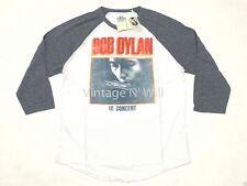 Lucky BRAND Jeans Men Bob Dylan Gray/white 81 Tour Concert Raglan T-shirt Rock XL