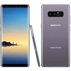 NEW GRAY VERIZON GSM UNLOCKED SAMSUNG GALAXY NOTE 8 N950U 64GB CELL JT26 B