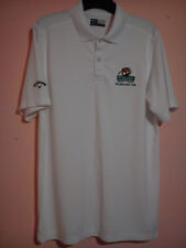 ST AUSTELL BREWERY WHITE CALLAWAY GOLF POLO SHIRT THE SOUTH WEST TOUR SIZE XL VG