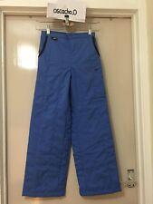 KID'S Unisexe Nike Isolé Ski Neige Pantalon Pantalon Bleu Clair Taille 10-12 ans