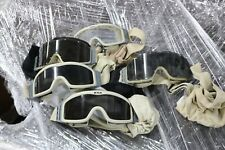 LOT OF 5 MILITARY ESS GOGGLES GLASSES