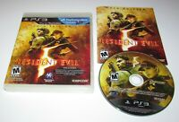 Resident Evil 5 Gold Edition for Playstation 3 Complete Fast Shipping!
