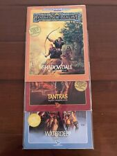 "TSR AD&D Forgotten Realms Module LOT FRE1-3 ""Shadowdale, Tantras, Waterdeep NM"