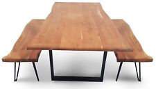 Chilson Table And Bench Set Large - Acacia Wood - available now