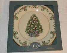 "Lenox Christmas Trees Around The World Plate France 1992 10.75"" dia"