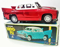 SEDAN CAR 1970s Tin-Plate Xing Fu MF083 Friction Car China Vintage Toy 70s