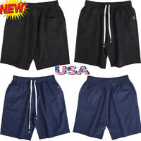 Summer Mens Gym Sport Jogging Shorts Pants Trousers Casual half Sport Pants US