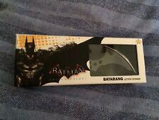 Batman arkham knight collectable  batarang letter opener