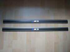 BMW M3 E30 EVO3/EVO2/Cecotto Original Einstiegsleisten mit M3 Logo