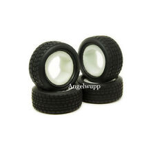 4 x RC 1/10 On-road Car Rubber Tires High Grip Tyre Tamiya 8005