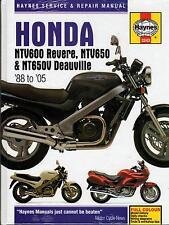 1988-2005 HAYNES HONDA NTV600 & NTV650 SERVICE REPAIR MANUAL  (3243)