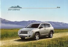 Jeep Compass 2007-08 UK Market Sales Brochure 2.4 2.0 CRD Limited