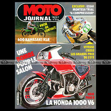 MOTO JOURNAL N°616 ★ HONDA VT 500 E ★ KAWASAKI 600 KLR ★ MONTESA ALCOR 1983