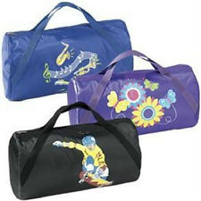 SKATER DUFFLE BAG SPORTS black SALE IN PKG NYLON WITH DOUBLE WEB HANDLE NEW