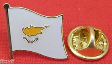 Cyprus Country Flag Lapel Hat Tie Pin Badge Brooch Κυπριακή Δημοκρατία Kıbrıs