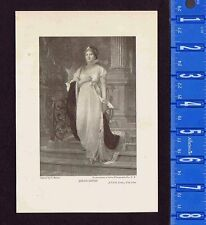 Queen Louise  -1898 Historical Print