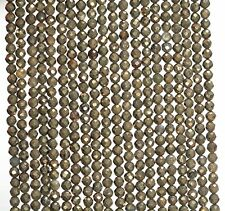 """2.5MM  PYRITE GEMSTONE GRADE AA MICRO FACETED ROUND LOOSE BEADS 15.5"""""""
