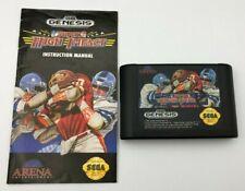 Super High Impact Sega Genesis 1992 Video Game Cartridge Manual Tested Football