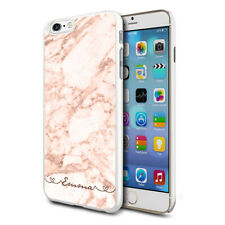 Personalised Marble Phone Case Cover For Apple Samsung Initial Name - Ref C09