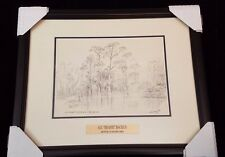"A.E. ""BEANIE"" BACKUS FLORIDA HIGHWAYMEN MENTOR ORIGINAL LITHO FRAMED"
