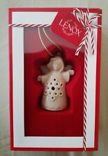 Lenox Nib Angel Wishes Snowflake Bell Holiday Collectible Ornament 2.5 In B3060