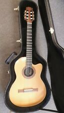 Gibson Chet Atkins CE solid body electro nylon string guitar, 1993, used, + case