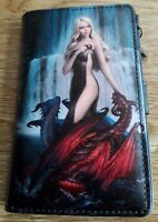 Nemesis Now  purse  featuring  Dragon design by James Ryman 14cm