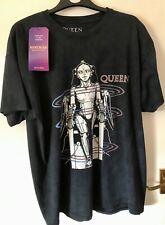 Queen T Shirt - The Works Bohemian Rhapsody Freddie Mercury Large