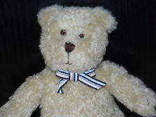With Tag GAP TEDDY BEAR SOFT TOY RATTLE BEIGE BROWN COMFORTER BABY GAP