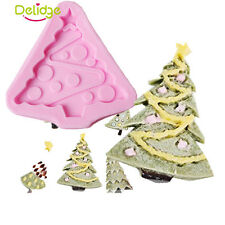 Christmas Tree Shape Silicone Cake Decor Chocolate Cookies Mold Baking Tool