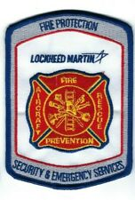 Lockheed Martin Fire Protection Security & Emergency Services GA Georgia patch