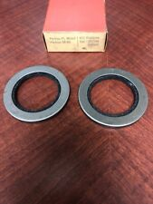 NORS PAIR 1958 59 1960 1961 62 1963 PONTIAC FRONT WHEEL OIL SEALS 528502 291146
