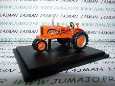 TR21 Tracteur 1/43 universal Hobbies n° 49 ALLIS CHALMERS WC 1945
