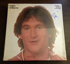 Robin Williams Reality..What a Concept Vinyl LP Record 1979 NBLP 7162 Wax Album