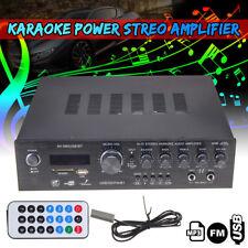 600W 220V 5 CH HiFi Audio Power Stereo Amplifier Bluetooth USB/SD/MMC/FM/BT Car