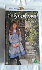 THE SECRET GARDEN - WARNER BROS. VHS VIDEO TAPE - CERT U.