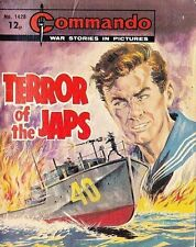 Commando For Action & Adventure Comic Book Magazine #1428 TERROR OF JAPS