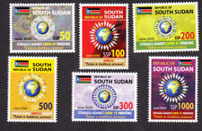 SOUTH SUDAN 2020 NH COVD 19 Virus Set of 6 PANDEMIC Quick Delivery -FreeShip USA