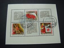Russia 1968 Satellite TV miniature sheet CTO SG MS3631 see scans a
