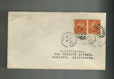 1929 Windsor Canada Cover to oakland California USA