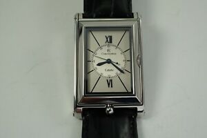 CHRONOSWISS CH2673 CABRIO REVERSO AUTOMATIC STAINLESS STEEL MINT C. 2000'S