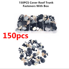 150Pcs Mixed Car Door Panel Liner Bumper Fenders Rivet Retainer Fastener Clips