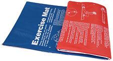Tunturi Aerobic-/Fitnessmatte 180 x 60 x 2,5cm blau/rot NEU+OVP