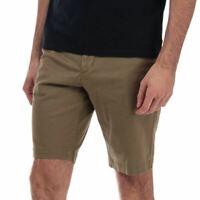 Men's Timberland Squam Lake Stretch Twill Chino Shorts in Green