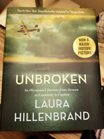 Unbroken - Laura Hillenbrand 2014 Adapted to YA 1st Edition 1st Print HB DJ VGC!