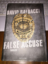 DAVID BALDACCI FALSE ACCUSE 2011 mondadori 1^ediz