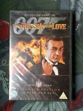 James Bond 007 From Russia With Love (2-Disc Ultimate Edition DVD New & Sealed)