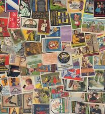 300 german Poster stamps collection, cinderellas, Scrapbooking, all damaged, Q24