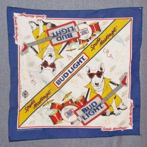 Spuds MacKenzie Bandana 1988 Anheuser Busch