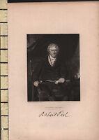 C1830 Antico Stampa ~ Sir Robert Peel